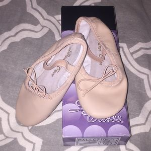 Ballet shoes - like new!